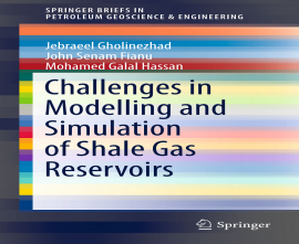 "کتاب ""Challenges in Modelling and Simulation of Shale Gas Reservoirs"""